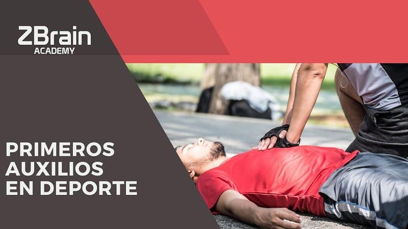 primeros auxilios en la práctica deportiva